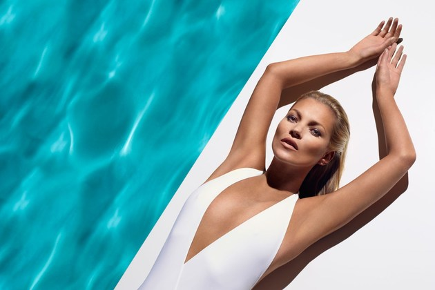 Kate Moss Gets Naked for St.Tropez Campaign