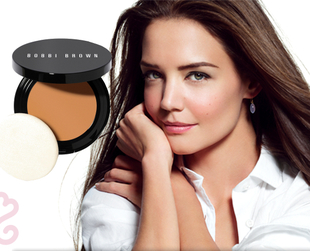Katie Holmes for Bobbi Brown Long-Wear Foundation