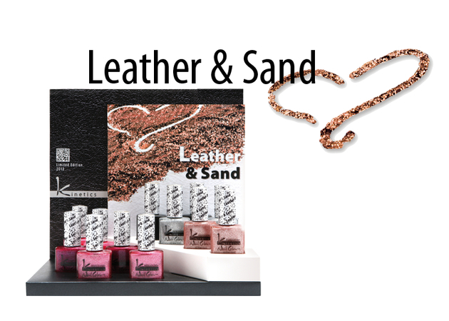 Kinetics Leather & Sand Nail Polish Collection