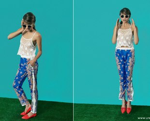 Unsure about the best ways to rock a cropped top? Check out LF Stores' new lookbook for some fab ideas.