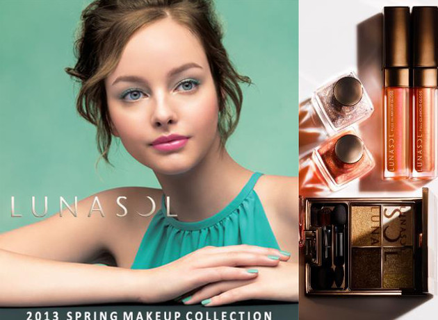 Lunasol Spring/Summer 2013 Makeup Collection