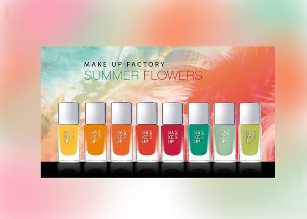 Make Up Factory 2013 'Summer Flowers' Collection
