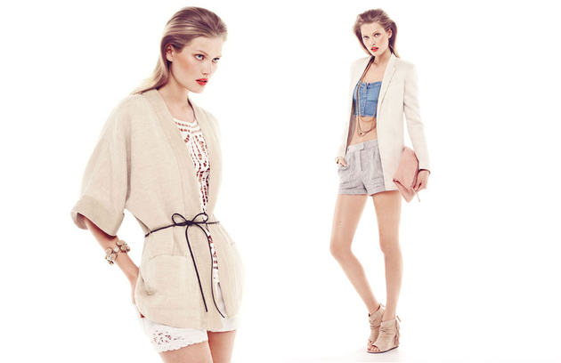 Mango May 2013 Lookbook