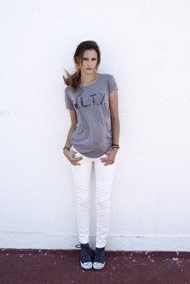 Meltin Pot White Skinny Jeans