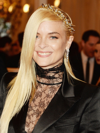 Jaime King Met Ball 2013 Hairstyle