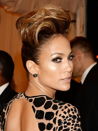 Jennifer Lopez 2013 Met Ball Hairstyle