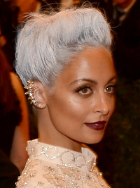 Nicole Richie Met Ball 2013 Hairstyle