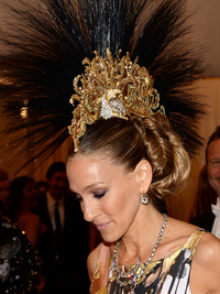 Sarah Jessica Parker Met Ball 2013 Hairstyle