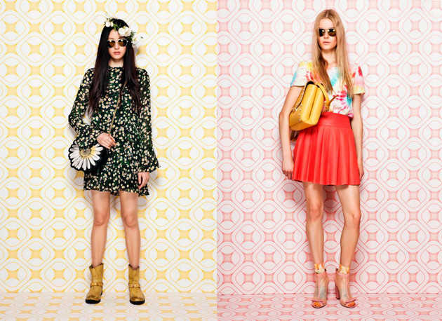 Moschino Cheap & Chic Resort 2014 Collection