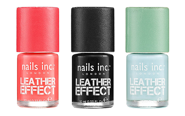 Nails Inc Leather Effect Spring 2013 Collection  (1)