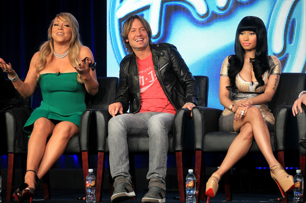 Nicki Minaj And Mariah Carey  Leaving American Idol