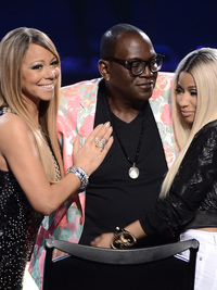 Nicki Minaj and Mariah Carey Leave American Idol