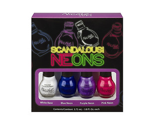 Make a colorful statement this season with the new Nicole by OPI Neon kits. Check them out!