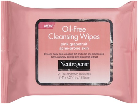 Neutrogena Pink Grapefruit Oil Free Cleansing Wipes