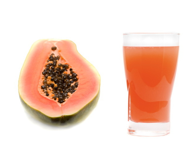 Papaya And Papaya Juice For An Oily Skin Diet