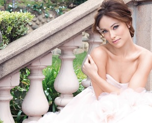 The always stunning Olivia Wilde is a blushing bride in the newest Avon campaign. Have a look!