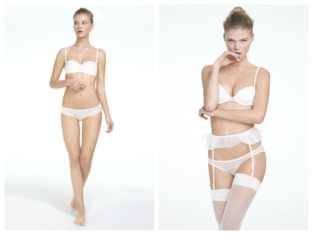 Oysho 'White Nights' Lingerie Catalogue