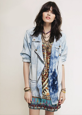 Rapsodia Oversized Denim Jacket