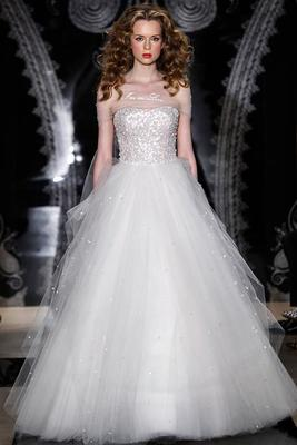 Reem Acra Spring 2014 Bridal Collection   (2)