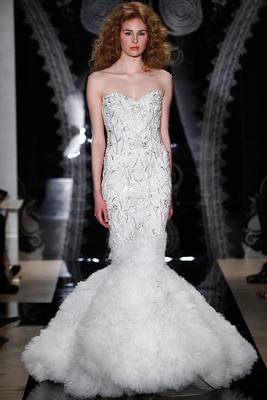 Reem Acra Spring 2014 Bridal Collection   (9)