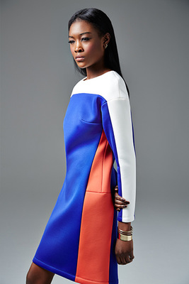 River Island Autunm 2013 Colorblock Dress