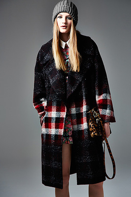 River Island Autunm 2013 Plaid Coat