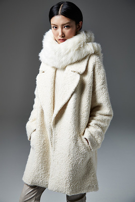 River Island Autunm 2013 White Coat