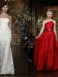 Romona Keveza Evening & Bridal Gowns Spring 2014 Collection