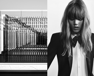 Elegance, edginess and refinement blend in Saint Laurent's new ad campaign for pre-fall 2013 featuring Freja  Beha Erichsen. Have a look!