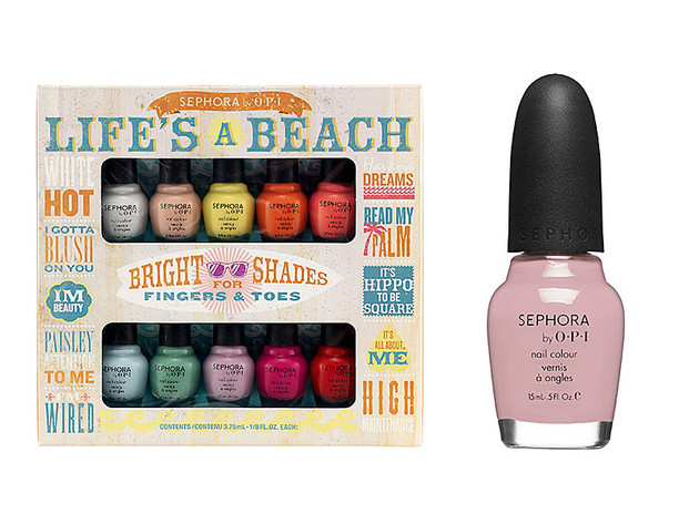 Sephora by OPI Summer 2013 Nail Polishes