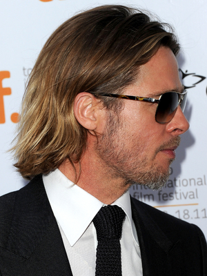 Brad Pitt Shag Haircut
