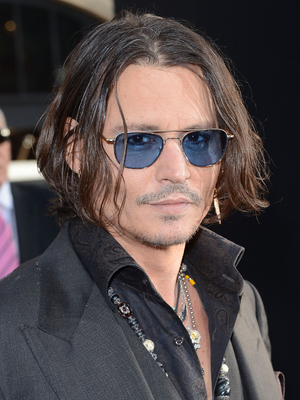 Johnny Depp Shag Hairstyle