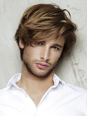 Mens Shag Haircut With Layers