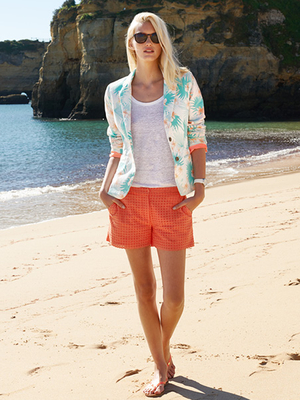 Tommy Hilfiger Floral Jacket Summer 2013