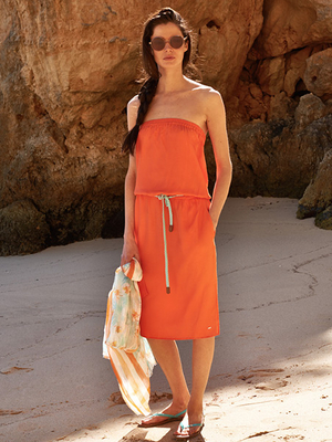 Tommy Hilfiger Orange Sundress Summer 2013