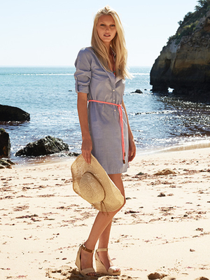 Tommy Hilfiger Shirt Dress Summer 2013