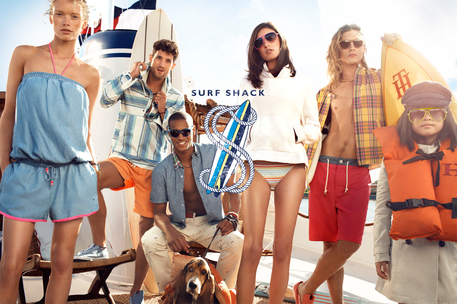 Tommy Hilfiger Summer 2013: Surf Shack Collection