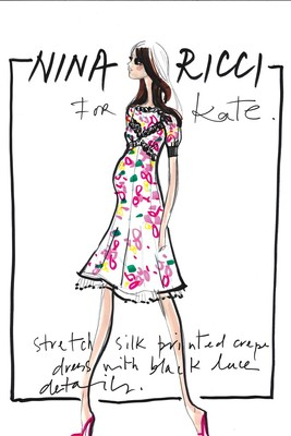 Top Designers Sketch Maternity Dresses For Kate Middleton (11)