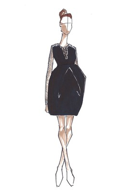 Top Designers Sketch Maternity Dresses For Kate Middleton (12)