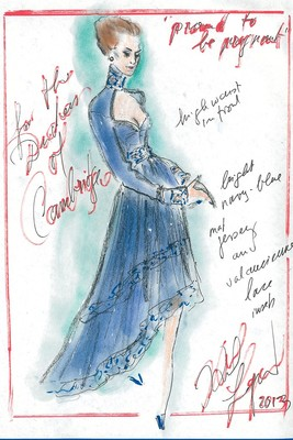 Top Designers Sketch Maternity Dresses For Kate Middleton (7)