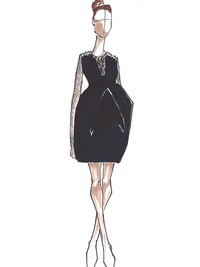Top Designers Sketch Maternity Dresses for Kate Middleton