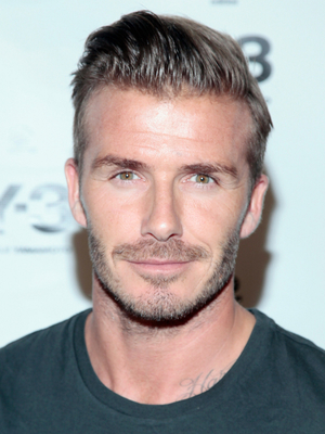 David Beckham Undercut Hairstyle
