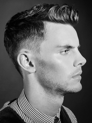 Short Undercut Hair For Men Side View