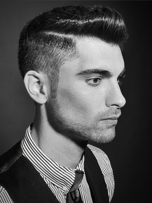 Undercut Hair For Men Side View