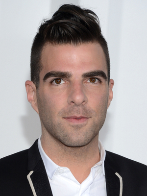 Zachary Quinto Undercut Hairstyle