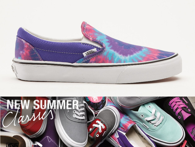 Vans New Summer Classics Collection