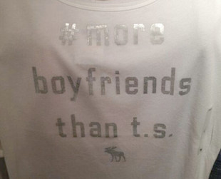 Abercrombie & Fitch is in hot water again, this time over a Taylor Swift inspired T-shirt. Get all the details!
