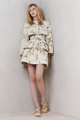 Alexander Mc Queen Resort 2014 Look 1