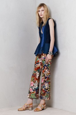 Alexander Mc Queen Resort 2014 Look 6