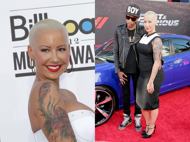 Amber Rose's Long Hair Makeover